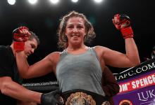 Megan Anderson treft UFC debutante Felicia Spencer tijdens UFC Rochester