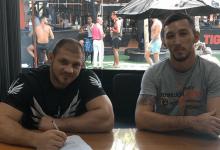 """EXCLUSIEF: """"Ural Hulk"""" pakt short notice partij tegen Devin Clark tijdens UFC St.Petersburg"""