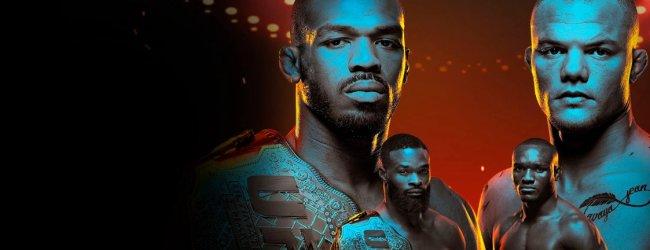 UFC 235 in Tweets: Veronica krijgt klachten en vechters reageren op beide titelgevechten