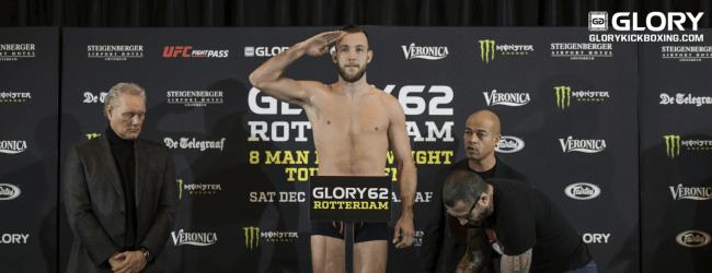Robbie Hageman stopt noodgedwongen met kickboksen
