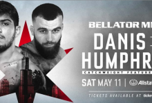 Dillon Danis vs. Max Humphrey voor Bellator 221