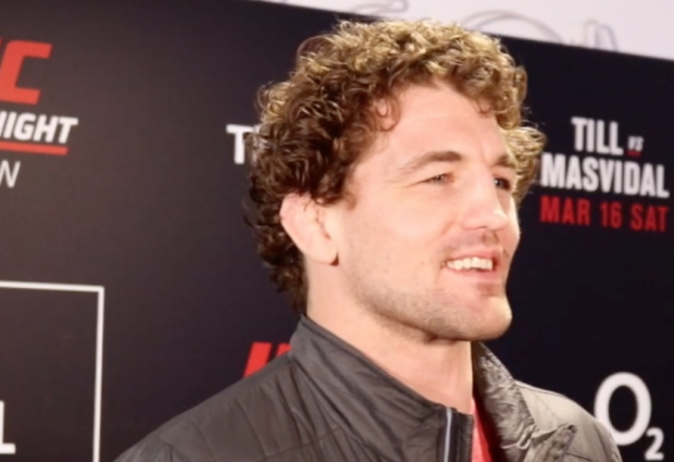 UFC Londen media scrum: Ben Askren