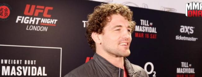UFC Londen media scrum: Ben Askren