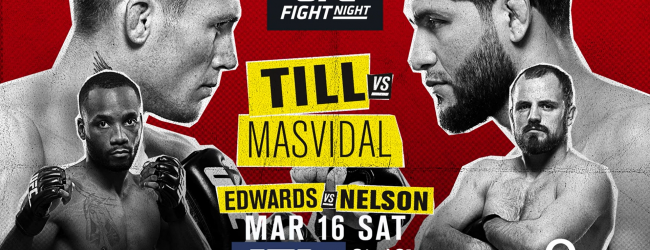 Uitslagen : UFC on ESPN+ 5 London : Till vs. Masvidal