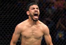 Julio Arce maakt opwachting tegen Julian Erosa tijdens UFC Rochester