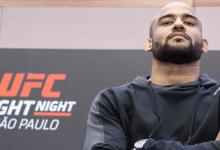 Braziliaanse clash tussen Warlley Alves en Sergio Moraes tijdens UFC 237 in Rio de Janeiro