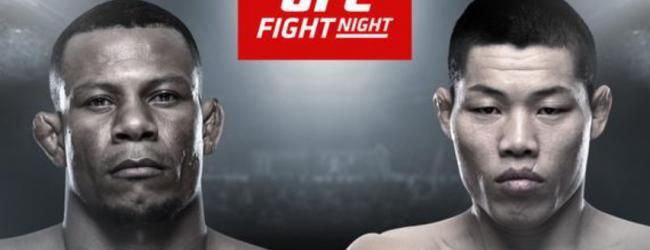 Violence Alert!!! Alex Oliveira treft Li Jingliang tijdens UFC Fort Lauderdale