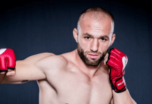 Roman Kopylov out, Alen Amedovski in tegen Kryzysztof Jotko tijdens UFC St.Petersburg