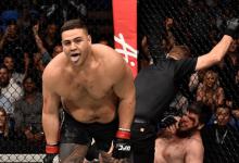 Heavyweights Tai Tuivasa en Blagoy Ivanov treffen elkaar tijdens UFC 238 in Chicago