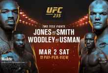 Uitslagen : UFC 235 : Jones vs. Smith
