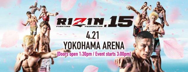 Uitslagen : RIZIN FF 15 : Yokohama
