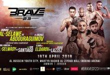 Uitslagen : Brave CF 23 : Al-Selawe vs. Abdouraguimov