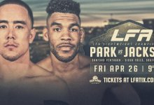 Uitslagen : LFA 64 : Park vs. Jackson