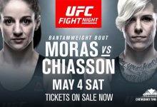 Macy Chiasson pakt short notice partij tegen Sarah Moras tijdens UFC Ottawa