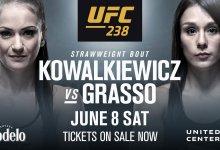 Snelle terugkeer Karolina Kowalkiewicz tegen Alexa Grasso tijdens UFC 238 in Chicago