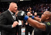 Gerucht: Daniel Cormier vs. Brock Lesnar in de maak voor UFC 241 in Augustus