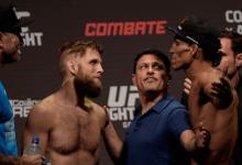 Charles Oliveira en Nik Lentz maken trilogie compleet tijdens UFC Rochester