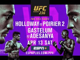 Uitslagen : UFC 236 : Holloway vs. Poirier 2