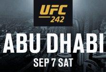 "Khalid Taha treft Bruno ""Bulldoguinho"" Silva tijdens UFC 242 in Abu Dhabi"
