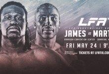 Uitslagen : LFA 67 : James vs. Martin