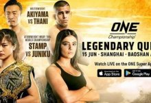 ONE Championship bezoekt Shanghai met Legendary Quest