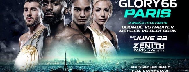 Luis Tavares en Hamicha toegevoegd aan GLORY 66 Parijs
