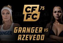 Uitslagen : CFFC 75 : Granger vs. Azevedo