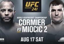 Rematch tussen Daniel Cormier en Stipe Miocic is het Main Event voor UFC 241