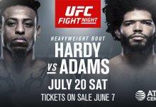 """""""Grudge Match"""" tussen Juan Adams en Greg Hardy Jr. tijdens UFC San Antonio"""