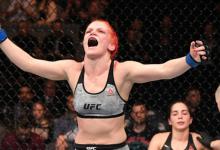 Gillian Robertson vs. Sarah Frota toegevoegd aan UFC 240 in Edmonton