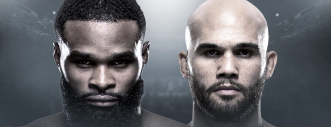 Tyron Woodley vecht NIET tegen Robbie Lawler tijdens UFC Minneapolis