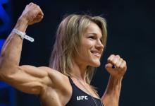 Felice Herrig vecht niet tijdens UFC 238 in Chicago vanwege gescheurde voorste kruisband