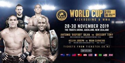 WKN titelgevecht tussen Antonio 'Bigfoot' Silva vs. Gregory Tony krijgt datum