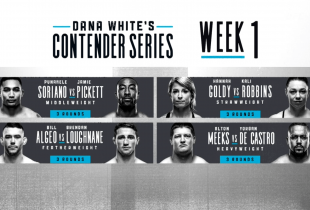 Uitslagen : DWTNCS Season 3 Week 1 : Soriano vs. Pickett