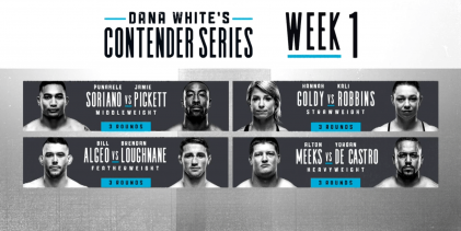 Uitslagen : DWTNCS Season 3 Week 1 : Soriano vs. Pickett