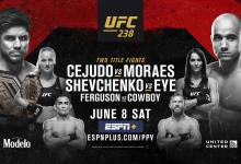 Uitslagen : UFC 238 : Cejudo vs. Moraes