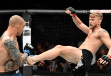 Alexander Gustafsson zet punt achter MMA carrière na verlies in Stockholm