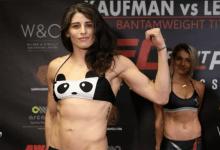 UFC debutanten Julia Avila en Melissa Gatto treffen elkaar tijdens UFC 239 in Las Vegas