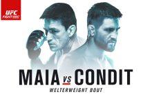UFC on FOX 21 : Maia vs. Condit : De Uitslagen