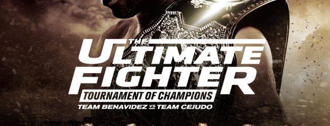 The Ultimate Fighter 24 woensdag van start!