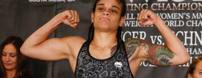 Handfractuur dwarsboomt UFC debuut Livia Renata Souza tijdens UFC Austin
