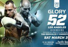 Middleweight Tournament met Belgaroui en Wilnis tijdens GLORY 52