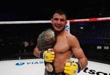Cage Warriors Kampioen Nad Narimani pakt short notice gevecht tijdens UFC Londen