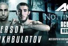 UFC veteraan Rob Emerson treft Shamil Shakhbulatov tijdens ACB 87 in Nottingham