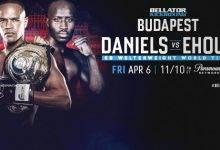 Uitslagen : Bellator Kickboxing 9 : Daniels vs. Ehouo