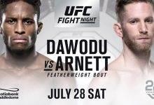Austin Arnett en Hakeem Dawodu op zoek naar eerste UFC overwinning in Calgary