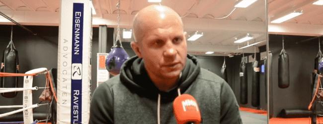 Video interview: Fedor Emelianenko