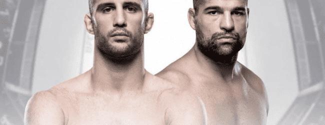 Volkan Oezdemir vs. Mauricio Rua is Main Event voor UFC Hamburg