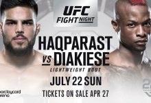 Europees onderonsje tussen Marc Diakiese en Nasrat Haqparast tijdens UFC Hamburg