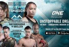 Uitslagen : ONE Championship 72 : Unstoppable Dreams